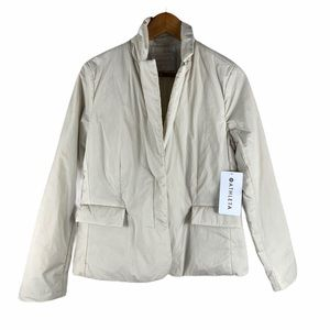Athleta evolution blazer soft shell beige jacket